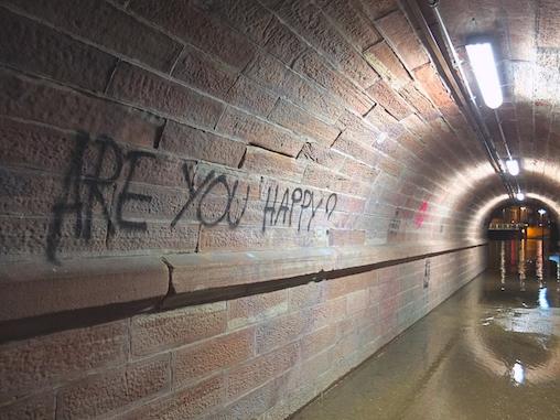 Strasbourg, France Tunnel