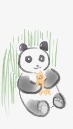 Panda Hugs Kitty
