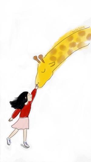 Patpat Mr. Giraffe